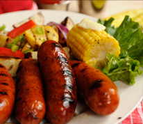 Natural Casing Smoked Sausage (Metts)